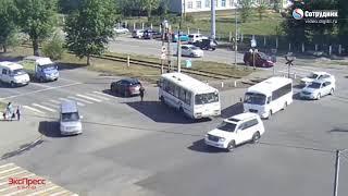 ДТП Бийск 28 августа перекресток Васильева/Трофимова