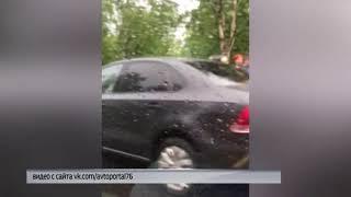 На Переборском тракте в Рыбинске столкнулись два автомобиля