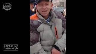 03.11.2018 Ачинск. Пьяный водитель на ул. Кравченко, который устроил ДТП