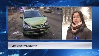В Череповце женщина – водитель врезалась в пассажирский автобус