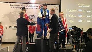 Югорские пауэрлифтеры завоевали золото и бронзу на первенстве мира