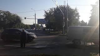 перекресток Каракозова-Луначарского. 20.09.2018