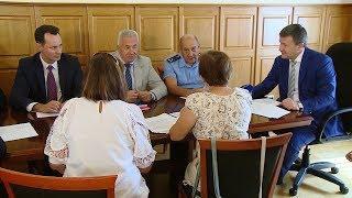 Дмитрий Сафонов провел прием граждан в Волгограде