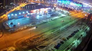 ДТП (авария г. Волжский) ул. Мира ул. Александрова 09-03-2018 19-43