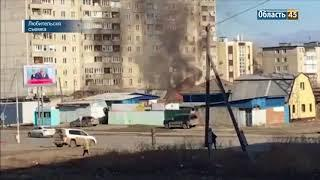 Пожар на Бурова Петрова 14 04