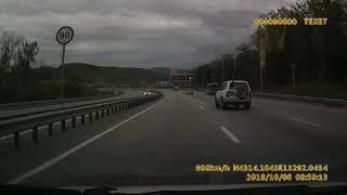 Жёсткое ДТП в районе Владивостока, ТЛК Прадо под управлением девушки.