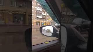 Новосибирск. ДТП на проспекте Димитрова.