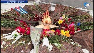 Жители Старой Руссы отметили 74-ю годовщину освобождения города от фашистов