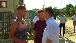 Мэр города встретился с жителями микрорайона имени Шалаева (РИА Биробиджан)