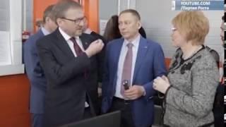 Борис Титов посетил центр проектирования ортопедической обуви