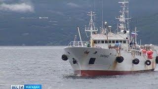 Краболов «Харбиз» получил прописку в магаданском порту
