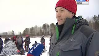 В Кирове прошли первые в этом году соревнования по зимней рыбалке(ГТРК Вятка)