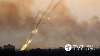 Ракеты из сектора Газа летят на Израиль | TВ7 Новости Израиля |