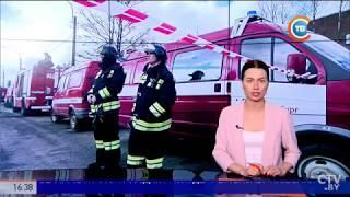 Взрыв в трамвайном депо в Санкт-Петербурге