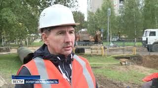 В Череповце на неделю перенесли сроки ремонта улицы Архангельской