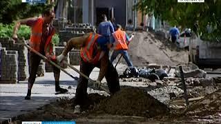Подрядчик, который в прошлом году ремонтировал проспект Мира в Красноярске, оштрафован