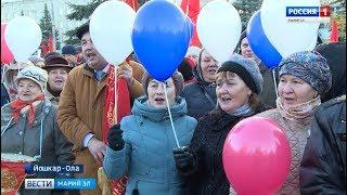 100 лет ВЛКСМ: в Йошкар-Оле комсомольцы собрались на митинг