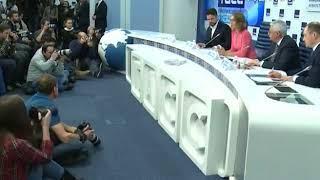 Ксения Собчак рассказала про агитационную работу в своём избирательном штабе