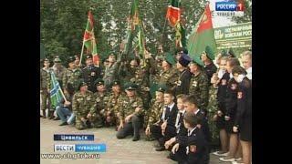 В преддверии юбилея пограничных войск в Чувашии встречали участников необычного всероссийского автоп