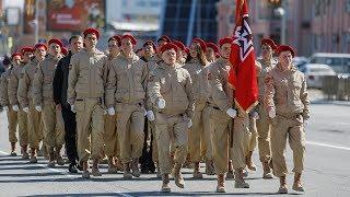 В Параде Победы впервые пройдут ханты-мансийские юнармейцы