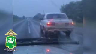 Неравнодушный гражданин помог задержать в Томске водителя, грубо нарушавшего ПДД