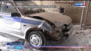 Двое полицейских госпитализированы после ДТП под Пензой