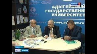 Чрезвычайный и Полномочный Посол Ирака в РФ Хайдар Мансур Хади побывал в медиа-центре АГУ