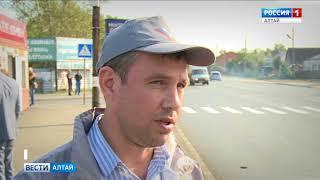 В Барнауле отремонтировали дороги на улицах Маркса, Телефонная и Новосибирская