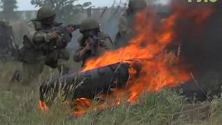 Миротворческая бригада в Рощинском выполнила задания по тактической подготовке