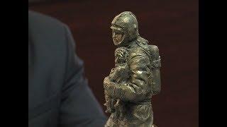 В МЧС по Марий Эл показали макет памятника пожарным и спасателям