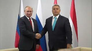 Путин – Орбан: энергетика и политика