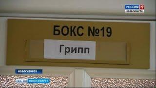 В Новосибирской области 11 человек заболели гриппом