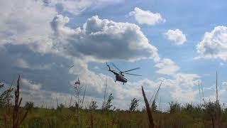 Вертолет на поисках Маши