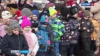 Торжества посвященные годовщине Города воинской славы прошли в Петрозаводске