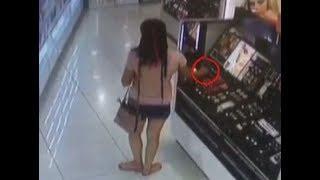 В Минводах кражу дорогой косметики в магазине сняли на видео