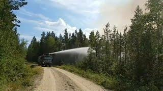 В Швеции пожары, в Британии засуха