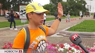 Профилактическую акцию для юных велосипедистов провели в Биробиджане (РИА Биробиджан)