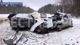"""Смертельная авария под Соколом: """"Форд"""" врезался в """"Мазду"""""""