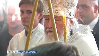 Патриарх Кирилл провёл богослужение в Великом Устюге