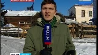 В единственной школе села Тихоновка обвалилась крыша