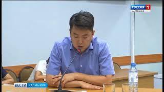 В Элисте идет заседание президиума Правительства Калмыкии