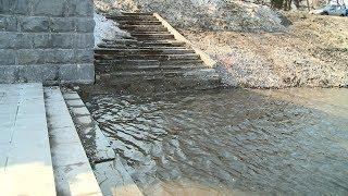 Вторая волна большой воды: в Пензе подтоплена набережная