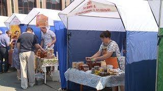 Ярмарка мёда в Саранске