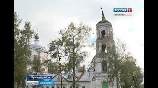 Колокольню старинного храма в Лухском районе  будет венчать новый шпиль