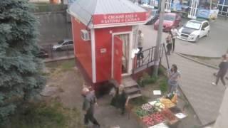 Драка продавцов в центре Пятигорска