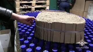 В Саратове пресечена деятельность цеха по производству фальсифицированного алкоголя