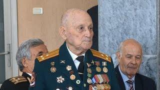 Пензенского ветерана с 95-летием поздравил президент