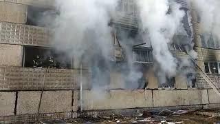 Взрыв газа в п  Приамурский ЕАО (РИА Биробиджан)