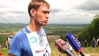 """Более 100 участников забега """"Царь горы"""" покорили высоту в Биробиджане(РИА Биробиджан)"""