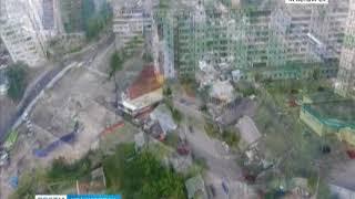 Улицу Копылова так и не перекрыли